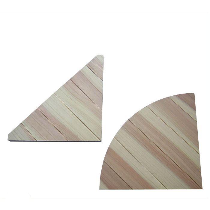 格子コーナー 三角 小約18×200×200mm